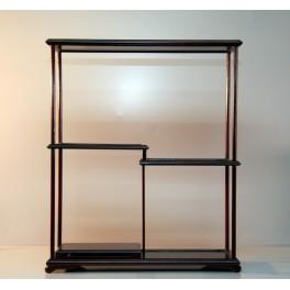 Estantería (5 módulos) - Caoba oscuro