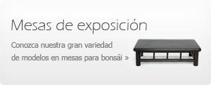 Mesas de exposición para bonsái